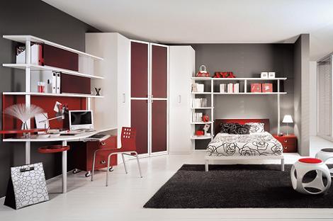 Habitaciones juveniles modernas - Habitaciones juveniles originales ...