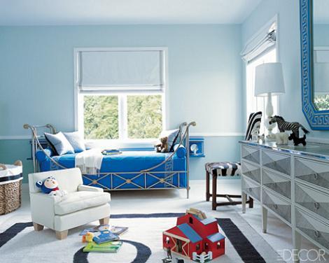 Habitación infantil de color azul
