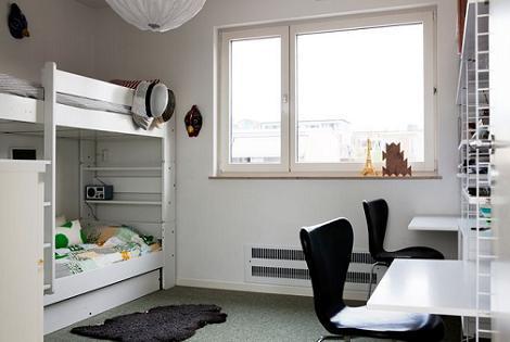 Habitaciones infantiles de estilo n rdico for Dormitorio juvenil estilo nordico