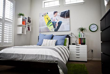 M s fotos de dormitorios juveniles - Decoracion habitacion juvenil masculina ...