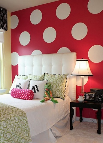 habitacion minnie mouse pared