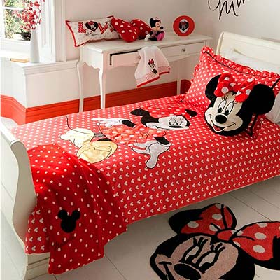 habitacion minnie mouse textil