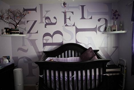 Habitación original bebé