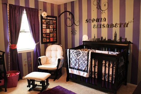Habitación sofisticada de bebé