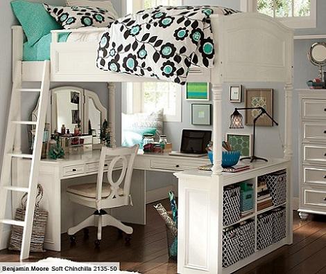 habitaciones chicas escritorio