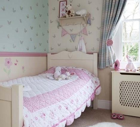 ideas decorar habitacion nina papel