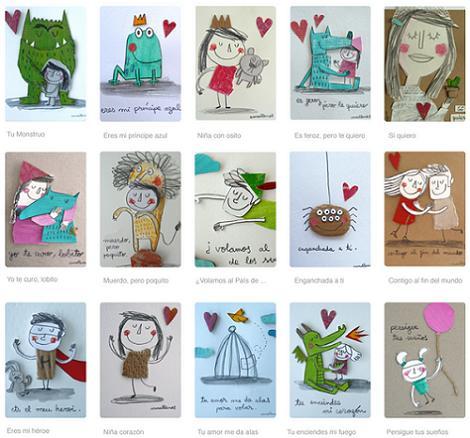 Láminas de Anna Llenas