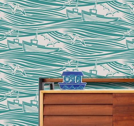 Papel pintado de mar