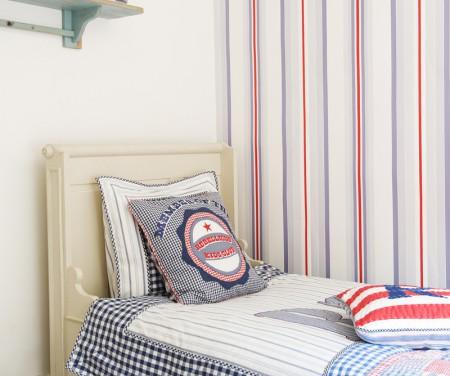 Papel pintado juvenil - Dormitorios pintados a rayas ...