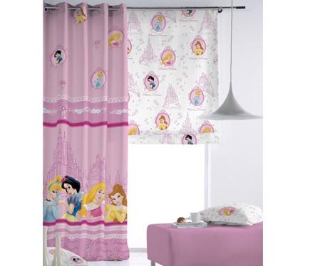 cortinas infantiles disney princesas