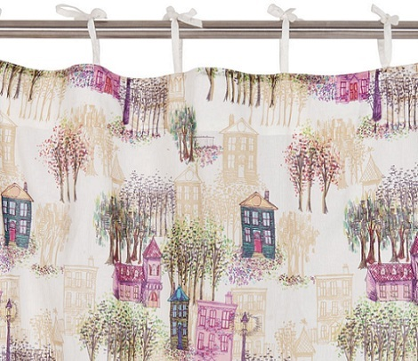 Cortinas infantiles zara home kids for Cortinas bebe zara home