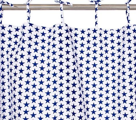 cortinas infantiles zara home estrellas