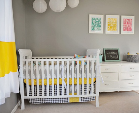 Decorar habitaci n de beb moderna - Habitacion bebe moderna ...