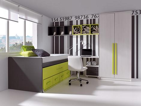 Dormitorios juveniles de muebles rey - Literas muebles rey ...