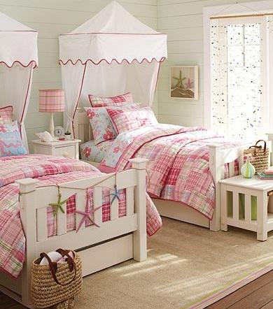 Dormitorio de princesa - Dormitorios con dos camas ...