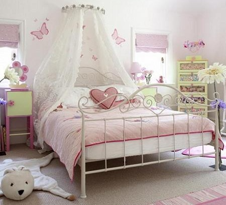 Dormitorio de princesa for Diy princess bedroom ideas