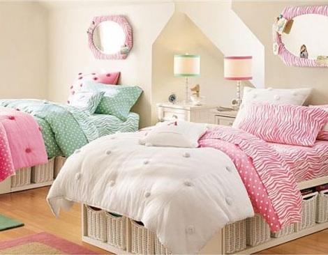 Dormitorios juveniles de inspiraci n for Dormitorios juveniles dos camas