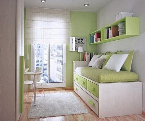 dormitorios juveniles inspiracion verde