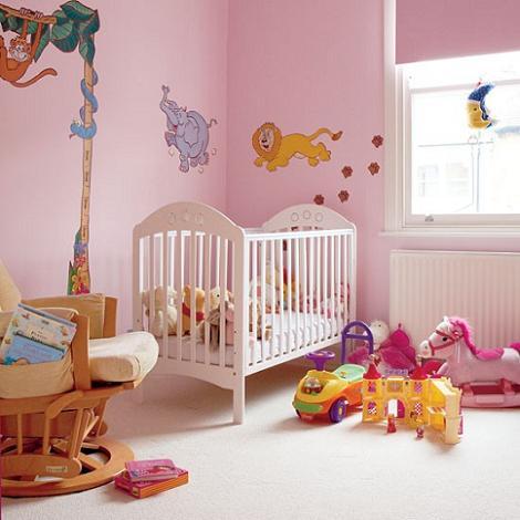 Habitación de bebé infantil