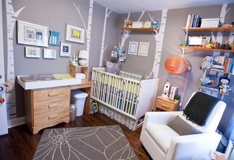 Habitación bebé moderna