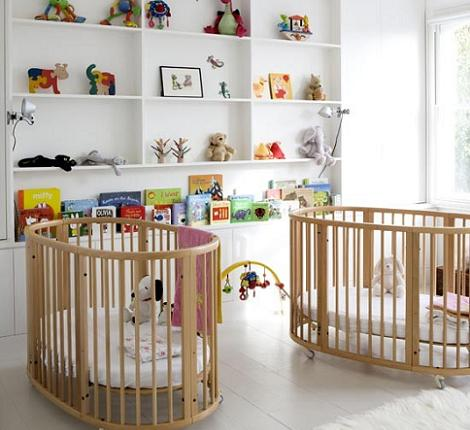 Habitación de bebé para dos