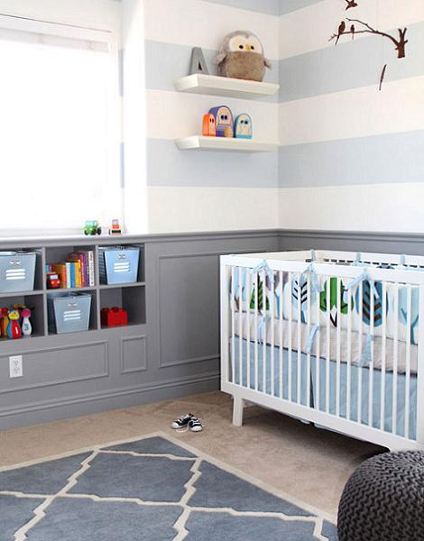 Habitaciones de beb modernas for Cuartos para ninas modernas