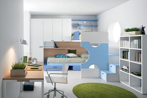 Habitación joven