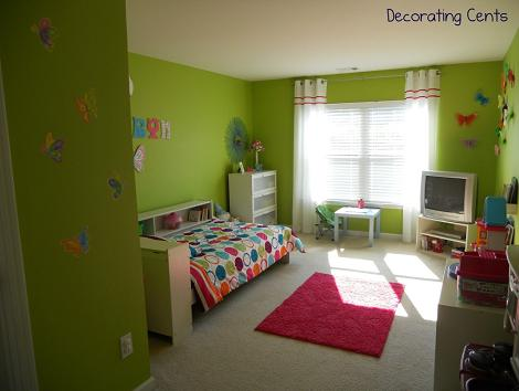 Habitación moderna para niña