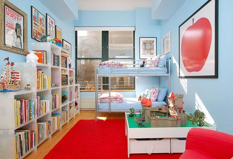 Habitación para niños moderna
