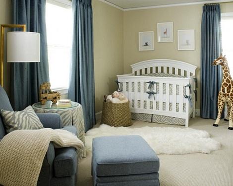 Habitaciones de beb ni o for Cuarto de bebe varon