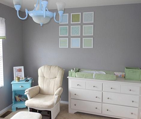 Habitaciones de beb ni o for Decoracion pared bebe nino