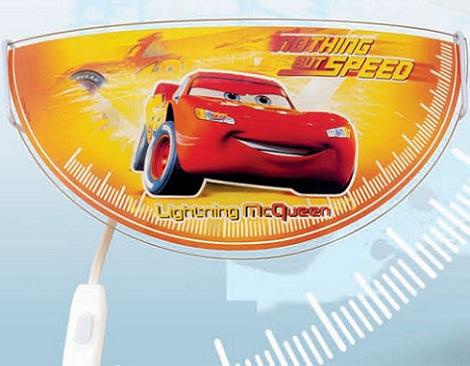 lamparas infantiles disney aplique cars