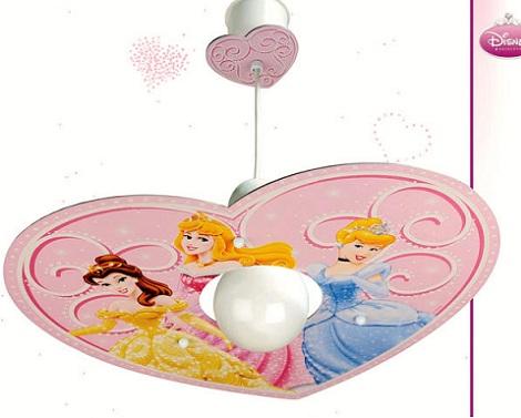 lamparas infantiles disney princesas
