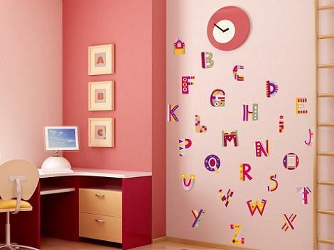 stickers de alfabeto