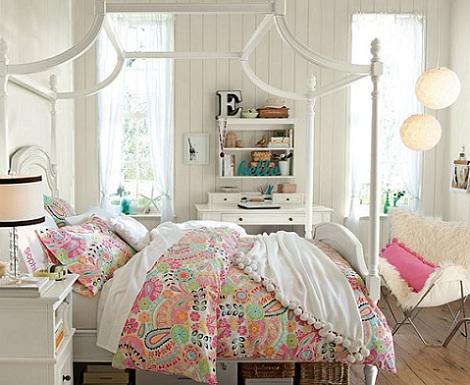 7 habitaciones juveniles para chica - Habitaciones blancas juveniles ...