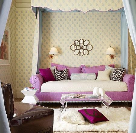 7 habitaciones juveniles para chica - Dosel cama nina ...