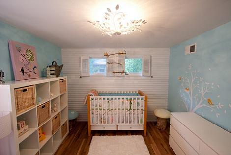 Habitaci n del beb vintage - Ikea habitaciones bebe ...