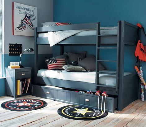 Habitaciones infantiles de estilo industrial for Jugendzimmer buben