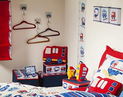 decoracion infantil primark camiones