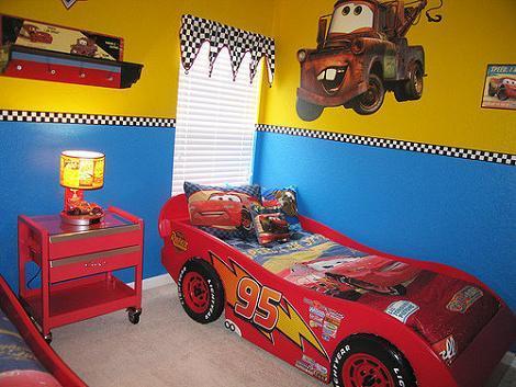 Dormitorios disney - Dormitorios de cars ...