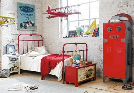 Habitación infantil industrial