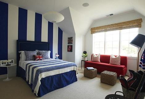 Habitaci n juvenil azul - Habitacion juvenil chico ...