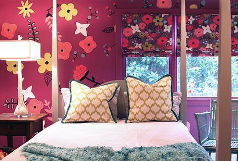Habitación lila original
