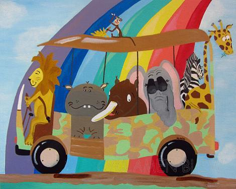 Pintura de animales