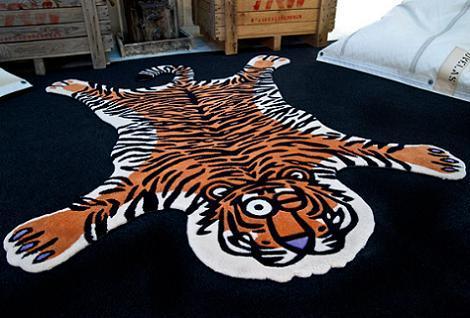 Alfombra tigre