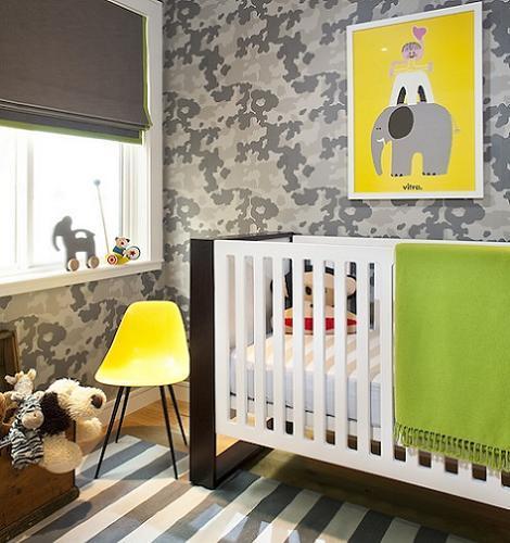 Dormitorio de bebé original