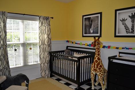 Habitación bebé zoo