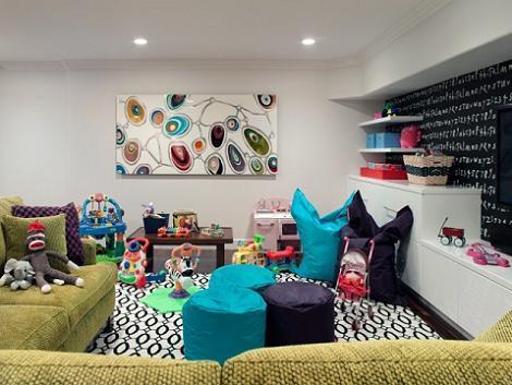 Habitación con juguetes