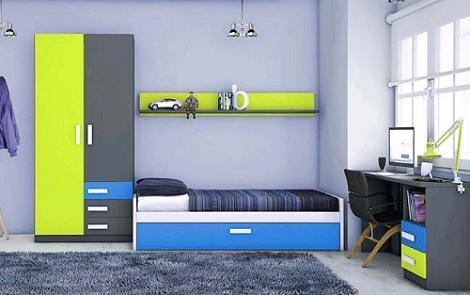 Dormitorios infantiles baratos for Muebles juveniles merkamueble