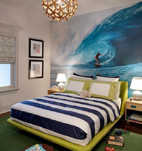 Murales para la habitaci n juvenil for Mural habitacion juvenil